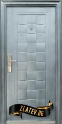 Блиндирана входна врата модел 132 D1