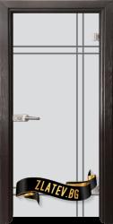 Стъклена интериорна врата Gravur G 13 8 X