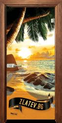 Стъклена интериорна врата Print G 13 14 Z