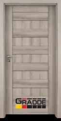 Интериорна врата Gradde Aaven Voll, цвят Сибирска Лиственица