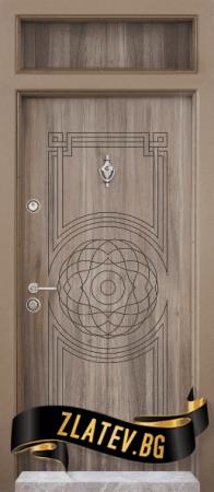 Еднокрила входна врата T-110 - Цвят Спарта