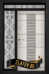 Еднокрила входна врата T-901 - Цвят Арктика
