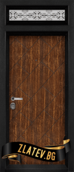 Еднокрила входна врата T-904 - Цвят Сахара