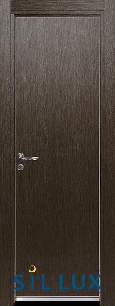 Алуминиева врата за баня Sil Lux, цвят Златен кестен